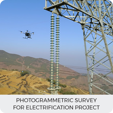 Photogrammetric survey for Electrification project